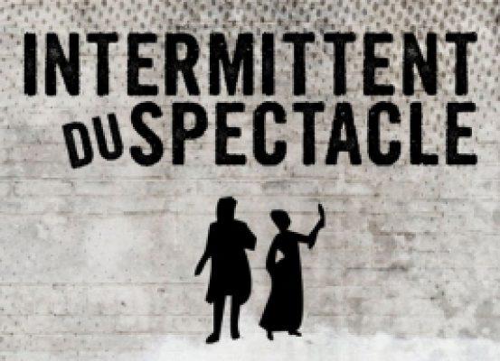 affiche intermittent du spectacle