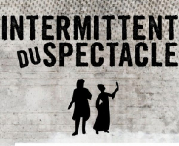affiche intermittent du spectacle