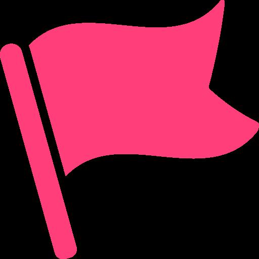 pictogramme d'un drapeau