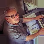photo de Gérard, un des intermittents inscrits sur la plateforme