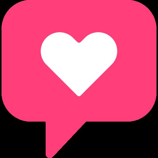 pictogramme d'un like instagram